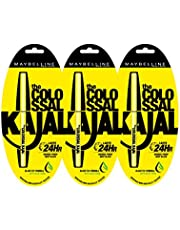 Maybelline Colossal Kajal, Black (pack of 3)
