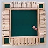 Vidatoy Deluxe Four Sided 10 Number Shut...