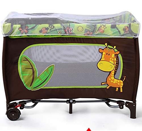 TYUE Lit bébé Jeu Bedmultifunctionpliable Portable Baby Bedchildren's Products 104 * 78 * 76cm