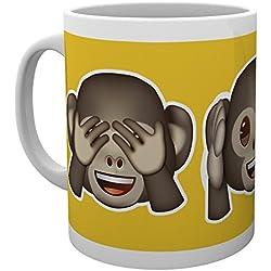 GB Eye LTD, Emoji, Mono, Taza de Ceramica