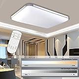 Hengda 48W LED Deckenleuchte Deckenlampe Wohnzimmer bad Küche Panel Leuchte Dimmbar 2700-6500K