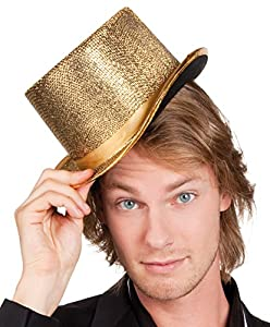 Boland 04176 - Sombrero para Adultos, Talla única, Color Dorado