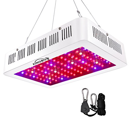 Chips LED Grow Light Vollem Spektrum LED Pflanzenlampe mit Rope Hanger for Indoor Greenhouse Hydroponic Plants Veg and Flower ()