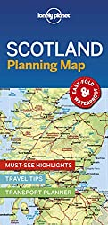 Scotland Planning Map (Lonely Planet Planning Map)