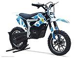 Moto Enfant Électrique RX 500W - Édition Edition Limitée - Bleu