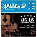 #7: D'Addario EZ910 Acoustic Guitar Strings, Pack of 2