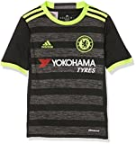 adidas Kinder FC Chelsea Trikot, Black/Solar Yellow/Granite, 128