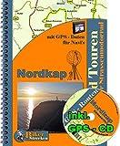 18 Tage Nordkap inkl. Navi Daten CD: Motorradreise zum Nordkap mit GPS Daten für TomTom / Garmin und andere