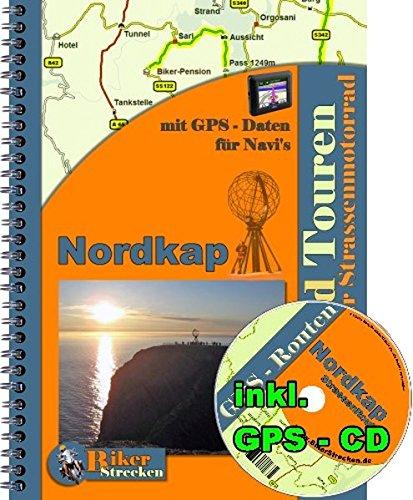 Preisvergleich Produktbild Motorrad -Tour -Reise zum Nordkap ( Norwegen ) mit GPS Daten