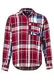 Marmot Asheville Midwt Flannel LS, Esterni A Maniche Lunghe, Camicia da Trekking, con Protezione UV, Traspirante Uomo, Brick, M