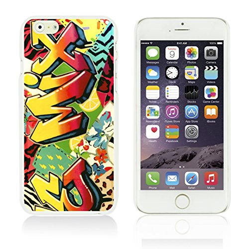 OBiDi - Funny Pattern Hardback Case / Housse pour Apple iPhone 6 Plus / 6S Plus (5.5)Smartphone - A TO Z Mix Graffiti