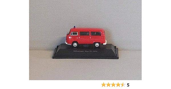 Vw T2 Bus Feuerwehr 1972 Modellauto Fertigmodell Welly 1 87 Spielzeug