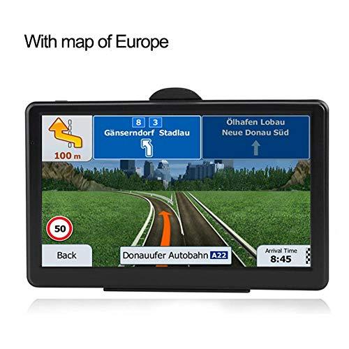 Navegador GPS para automóvil, Pantalla táctil de 7'con Mapa Gratuito (RAM256M...