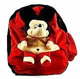 #5: TAS Stuffed Soft Plush Toy Kids Cute (Red,Black) Micky Mouse Bag (45 cm)