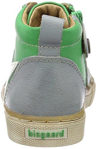 Bisgaard Unisex-Kinder Schnürschuhe High-Top Grün (1001 Green)