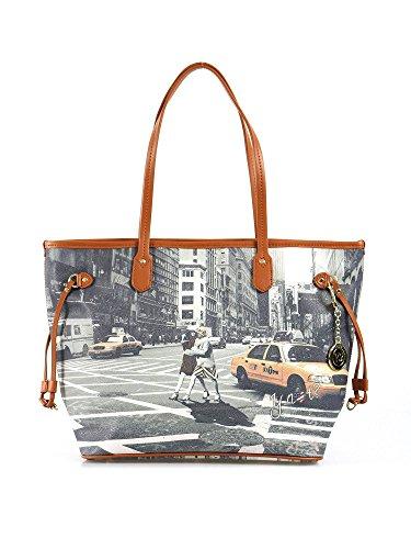 Borsa Shopping grande Y Not - G319 Walk in New York