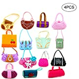 NiceButy 4 PC / Conjunto Diferente de Barbie Bolso ShoulderBag para...