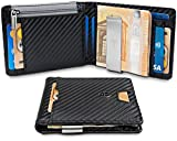 "TRAVANDO ® Wallet Mens with Money Clip ""New York"" RFID Blocking Slim Wallet"