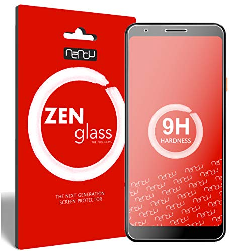 ZenGlass (2 Stück Flexible Glas-Folie für Google Pixel 3a Panzerfolie I Bildschirm-Schutzfolie 9H I (Kleiner Als Das Gewölbte Bildschirm)