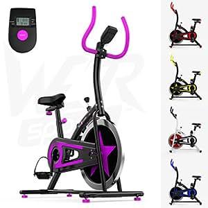 We R Sports C100 Vélo de formation à l'intérieur Violet