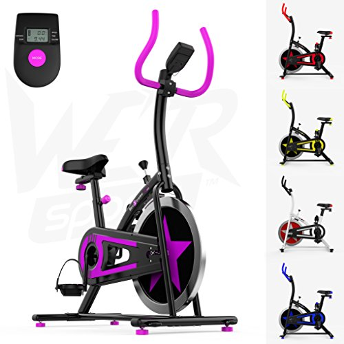We R Sports C100 - Bicicletas estáticas y de spinning para fitness, color negro, talla NA