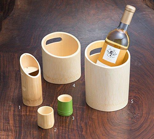 Yamako aus Bambus Wein-Kühler,Sake-Kühler,12335 (Es ist die Nummer 5 im Bild) aus Japan