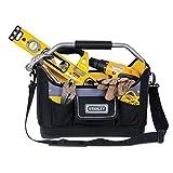 Stanley Stanley Werkzeugtrage / Werkzeugtasche (44.7x27.7x25.1cm, 600 Denier Nylon, ergonomischer Gummihandgriff, wasserdichter Kunststoffboden, Schultergurt und Tragebügel) 1-96-182