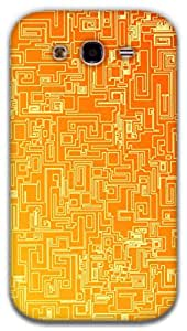 The Racoon Grip Maze hard plastic printed back case / cover for Samsung Galaxy Grand Neo