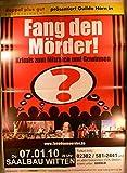 Fang den Mörder - Witten 2010 Konzert-Poster A1