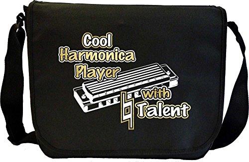 Harmonica-Cool-Player-Natural-Talent-Sheet-Music-Document-Bag-Musik-Notentasche-MusicaliTee