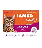 Iams Delights Mature & Senior With Chicken In Gravy Comida para Gatos - 1020 gr