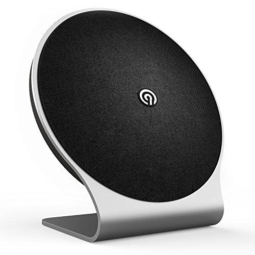 NINETEC Kosmo 60 Watt Bluetooth NFC Speaker Premium Design Home Lautsprecher Schwarz
