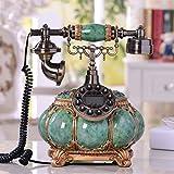 wysm Pastoral telefónicas creativa hogar del teléfono retro villas de estilo europeo, decoradas antigüedades teléfono fijo Edimburgo