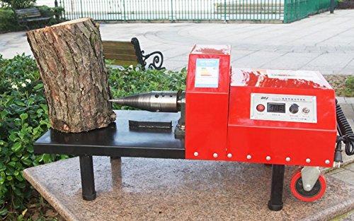 Gowe Schraube Holz Schraube Typ Stahl Splitter Holz Log Splitter Elektro-Holz mit Rotator mit Bit