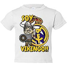 Camiseta niño Real Madrid soy Vikingo