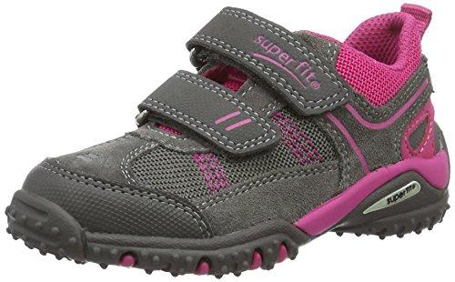 Superfit Mädchen Sport4 Sneakers Grau (Stone Kombi 06)