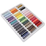 #4: Imported 39 Spools Mixed Color Polyester Sewing Thread Multi-purpose-15012663MG
