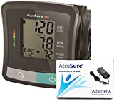 #6: AccuSure TD-1209, Automatic Upper Arm Blood Pressure Monitor with Power Adapter Bp Monitor