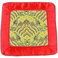 Wukong Paradise Damasco Bordado Coaster Pot Mat Mat Tea Mats Tabla Runner Té Accesorios-A08