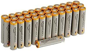 AmazonBasics - Pile Mini Stilo Alcaline AAA Performance, confezione da 36