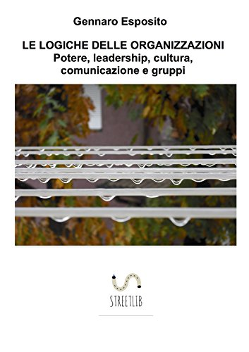LE LOGICHE DELLE ORGANIZZAZIONI Potere, leadership, cultura, comunicazione e gruppi