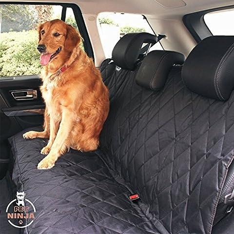 Animal domestique Ninja de luxe étanche Pet Housse de siège pour voitures