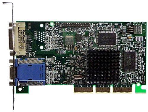 16MB Matrox G450 G45+MDVA16D/OEM Dualhead AGP4x VGA+DVi ID12282 -