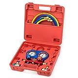 Klima Wartung Kfz Werkzeug Klimaanlagen Diagnose Tester mit Messuhr FTAC8065