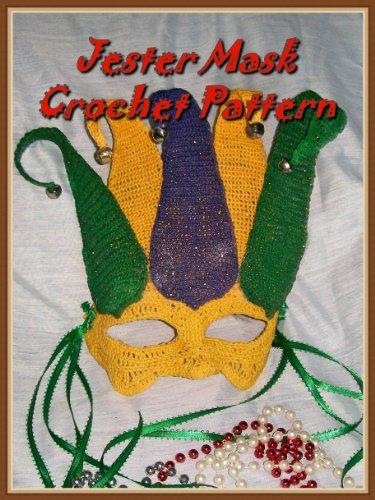 Jester Mask Crochet Pattern (English Edition)