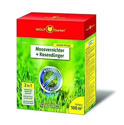 WOLF-Garten Moosvernichter und Rasendünger - SW 100 - 3,5 kg für 100 m² - 3841020 von WOLF-Garten bei Du und dein Garten