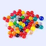 Kicode Gel Perle d'acqua 10000pcs / pack Nutrizione Garden Morbido fango di cristallo Colorato Paintball Palla Toy bambini