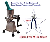 Manual Jagjeet Fruit Juicer 16 Number White Home Use Only Pure Aluminium Body Made In India Hand Made