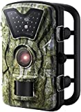 "Trail Camera, [New Version] VicTsing HD Infrared Game&Trail Camera with 24 Black LEDs 8MP 720P 2.4"" LCD Screen IP66 Waterproof Hunting Scouting Cam Great for Night Vision Wildlife Monitoring, Surveillance, Home Security etc - Camouflage Color"
