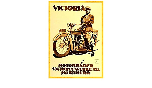 VINTAGE 1956 VICKY MOPED ADVERTISING A3 POSTER PRINT